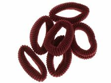 Burgundy Medium Ponios Hair Elastics Hair Bands Hair Accessories
