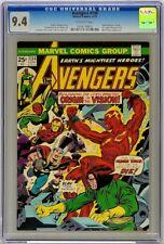 Avengers 134 1975 CGC 9.4 Mantis Human Torch Vision Origin Agatha Harkness Cameo