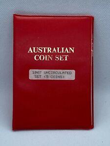 Australia 1967  Mint set UNC  (3400087/P1)