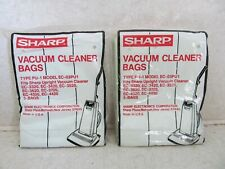 2 pkgs Sharp Vacuum Cleaner Bags 3 per package Type Pu-1 Model Ec-03Pu1 Nos