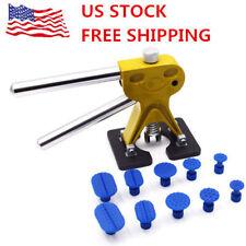 Car Pantless Dent Repair PDR Glue Puller Golden Dent Lifter 10 Tabs Tool Kit New