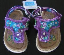 NWT New 3-6 Month Children's Place Purple Flower Sandal