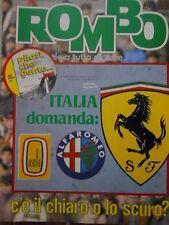 ROMBO 50 1983 Brooke Shields campionessa del Sahara - Ferrari Alfa Romeo Osella