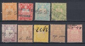 Switzerland Revenue Stamps, VAUD CANTON
