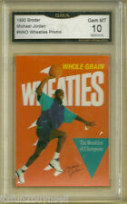 1990 Broder Michael Jordan NNO Wheaties Promo  Graded 10 GMA Gem MT