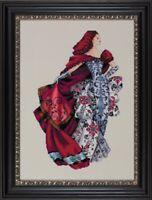MD128 Red - Mirabilia Designs/Nora Corbett chose chart/embellishments