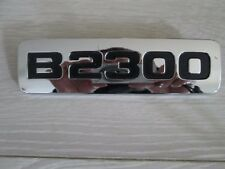 NOS 2001-2009 MAZDA TRUCK B2300 PICKUP EMBLEM OEM CHROME FENDER EMBLEM