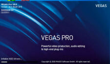 Magix Sony VEGAS Pro 18 -Professional Video Editor- Effects & Color grading 2020