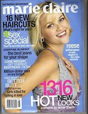 REESE WITHERSPOON Marie Claire Magazine 8/03 LOVE LAUGHTER SURPRISES PC
