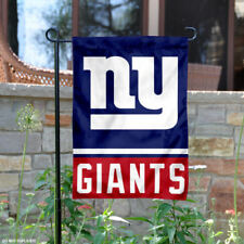 NY Giants Garden Flag and Yard Banner