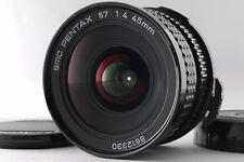 [Near Mint] Pentax SMC 67 Late Model 45mm f/4 Lens for 6x7 67 II from japan #89