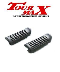 Honda VFR 800 FI Footrest Footpeg Rubbers 1998-2001 Motorcycle Tourmax