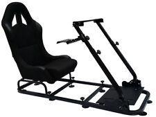 FK Gamesitz Spielsitz Rennsimulator eGaming Seats Monaco schwarz