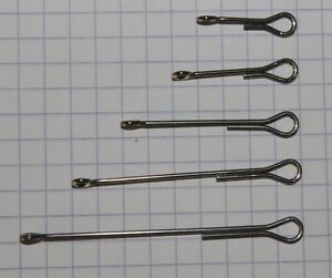 Fly Tying Economy Articulated Shanks for tying the Game Changer 8 options 20 pk