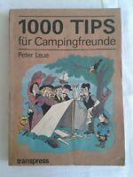 1000 Tips für Campingfreunde, DDR-Ratgeber 1989