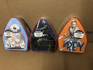 Topps Disney Star Wars The Rise of Skywalker Collector Tins trading cards x 3