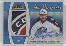 2015 Fleer Showcase Prospects White Hot /5 Josh Anderson RPA Rookie Patch Auto