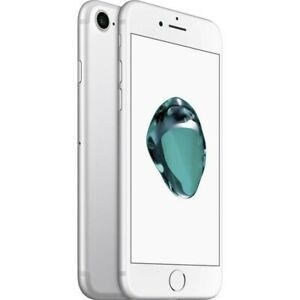 AS IS Apple IPHONE 7 (A1660), 128GB, Carrier Verizon / Silver