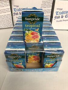 Sunpride Tropical juice cartons 250ml X 24 - Kids Lunchbox Size - 200ml
