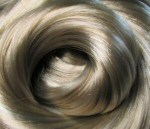 HONEY ASH Blonde Synatra-Saran Doll Hair for Custom Reroots