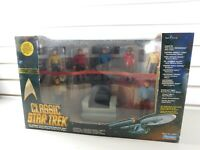 Classic Star Trek Bridge Collector Figure Set 1993 Playmates Limited Edition