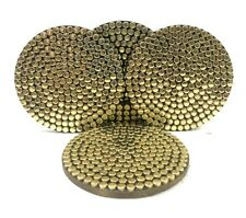 Gold Brass Coaster Set corporate gift item Tea Coaster Home Decor Drink Holder