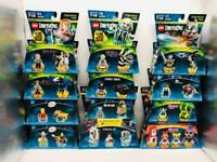 Lot of 12 New/Sealed Lego Dimensions Fun, Team & Level Packs 13 Minifigures More