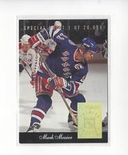 1993-94 Donruss Special Print #O Mark Messier Rangers