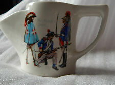 Vintage Lord Nelson Pottery The French guards Military uniforms Of France