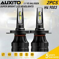 AUXITO H4 HB2 9003 20000LM LED Headlight Kit High Low Beam Bulb B1 CANBUS 6000K