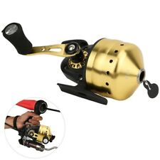 Outdoor Bow Fishing Spincast Reel Inside Lines Closed Fishing Hunting Shooting