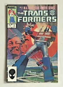 The Transformers #1 Marvel Comics September 1984 Very Good Condition