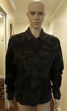 Men ROCK REVIVAL button up denim jacket SIZE XL NWT