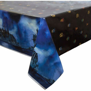 Harry Potter Hogwarts House Plastic Table Cover Birthday Party Supply Decoration