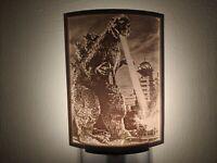 Godzilla (1954) Lithophane Incandescent Night Light Lamp