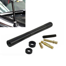 4.7'' Car Antenna Carbon Fiber Radio FM Antena Black Kit + Screw
