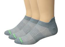 Wrightsock Pack Of 2 Cool Mesh II Steel Grey Socks Sz M 6504