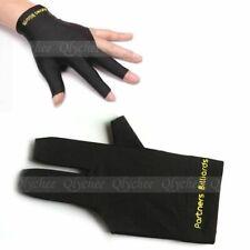Spandex Snooker Billiard Cue Glove Pool Left Hand Three Finger Sporting Supplies