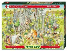 HY29727 - Heye Jigsaw Puzzle - 1000 Piece - Jurassic Habitat - Degano