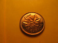 Canada 1945 Gem BU Small Cent Penny IDJ318.