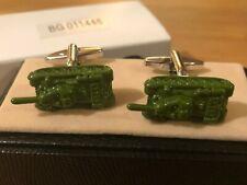 Tanks Cufflink Pair in Box