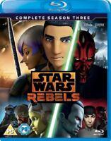 Star Wars Rebels Complete Season 3 Series Three Third New Reg B Blu-ray