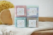 ALL NATURAL HANDCRAFTED BATH BOMBs - SET OF FOUR