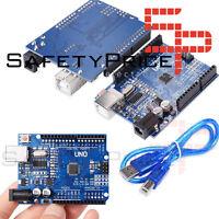 UNO R3 ATmega328 CH340 100% Compatible con Arduino + pines + cable SP