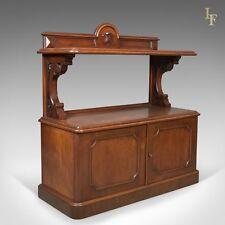 Antico BUFFET, scozzese Server Cabinet, mogano, Mid Vittoriano c.1870