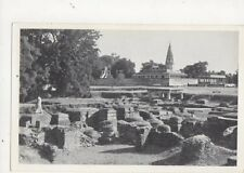 Sarnath Excavated Remains India Old Postcard 446a