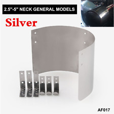 """Stainless Steel Car Air Filter Heat Shield Cover For 2.5"""" TO 5.5"""" Cone Filter"""