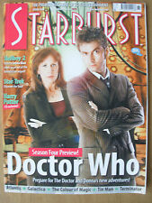 STARBURST MAGAZINE No 361 APRIL 2008 DOCTOR WHO - STAR TREK - HELLBOY - TIN MAN
