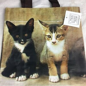 Small Shopping Bag Cats Of Distinction With Handles Brand New tote bags shopper