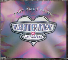 ALEXANDER O'NEAL & CHERELLE - BABY COME TO ME - CD MAXI [620]